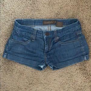 FRANKIE B denim shorts